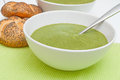 Spinach Soup Royalty Free Stock Photos - 24267398