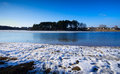 Lake In Winter Stock Photography - 24269332