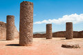Hall Of Columns, La Quemada, Zacatecas (Mexico) Royalty Free Stock Photos - 24275588