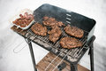BBQ During The Winter Stock Photo - 24299620