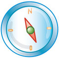 Compass Icon Royalty Free Stock Image - 2435396