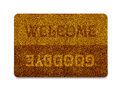 Welcome Doormat Royalty Free Stock Photography - 24302737