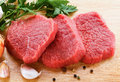 Fresh Raw Beef On Cutting Board Stock Images - 24304794