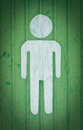 Sign Of Public Toilets For Man Stock Photography - 24309472