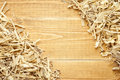 Wooden Sawdust And Shavings Background Royalty Free Stock Photos - 24334458