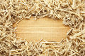 Wooden Sawdust And Shavings Background Stock Photography - 24334462