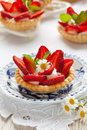 Strawberry Tartlets Royalty Free Stock Images - 24349199