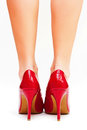 Red High Heels Stock Image - 24361181