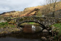 Stone Bridge In The English Lake District Royalty Free Stock Photography - 24386017