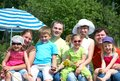 Big  Family On Vacation Stock Images - 24390714