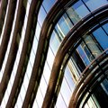 Metal And Glass Windows Of A Building Royalty Free Stock Image - 24397946