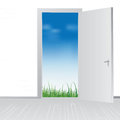 Open Door To Nature Royalty Free Stock Images - 24399889
