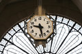 Railway Station Clock Royalty Free Stock Images - 2444449