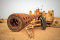 Old Military Anti-tank Gun Royalty Free Stock Image - 24408816