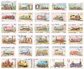 Stamp Collection: Steam Locomotives Royalty Free Stock Photo - 24411135