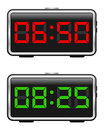 Digital Alarm Clock Set Stock Photography - 24416472
