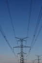 Hydro Electrical Power Tower Royalty Free Stock Photo - 24418625
