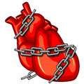 Heart Attack Royalty Free Stock Images - 24424359