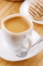 Coffee With Cookie Sandwich Stock Photo - 24439120