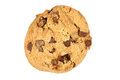 Single Chocolate Chip Cookie Biscuit Royalty Free Stock Photos - 24446488