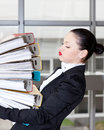 Secretary  In The Office Stock Image - 24459401
