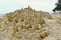 Large Sandcastle Royalty Free Stock Photos - 24461078