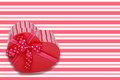 Heart Gift Royalty Free Stock Image - 24466526
