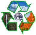 Recycle Earth Royalty Free Stock Photography - 24474707