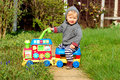 Baby On Ride On Train Royalty Free Stock Images - 24476919