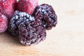 Frozen Berry Fruits Stock Photos - 24483083