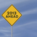 2013 Ahead Stock Photography - 24487942