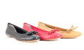 Women Ballet Flat Shoes Royalty Free Stock Photography - 24503027