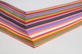 Nice Colored Construction Papers Stock Photography - 24507182
