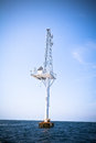 Offshore Communication Antenna Royalty Free Stock Images - 24512829
