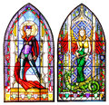 Stained Glass Windows Stock Photo - 24519010