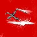 Ninja Fighter Royalty Free Stock Images - 24521609