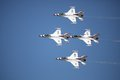 United States Air Force Thunderbirds Stock Images - 24522394
