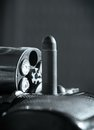 Revolver And Bullet Stock Photography - 24527292