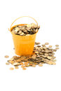 Crowded Pot Of Money Stock Images - 24533904