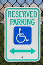 Reserved Parking Royalty Free Stock Image - 24544336
