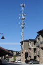 Cell Tower Royalty Free Stock Image - 24561316