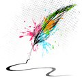 Abstract Feather Stock Photo - 24564670