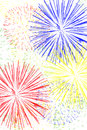 Fireworks Background Royalty Free Stock Photography - 24580127