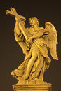 Rome - Angel With The Cross Stock Image - 24601661