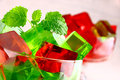 Delicious Sweet Jelly Dessert Royalty Free Stock Images - 24614049