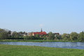 Village On The Elbe River Stock Image - 24623131