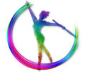 Twirling Dance Royalty Free Stock Image - 24631976