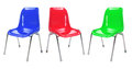 Plastic Chairs Royalty Free Stock Images - 24632299