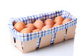 Brown Eggs In Box Royalty Free Stock Photo - 24647575