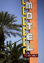 Neon Hotel/Casino Sign Royalty Free Stock Photos - 24660048